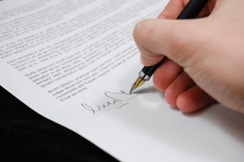 document signing