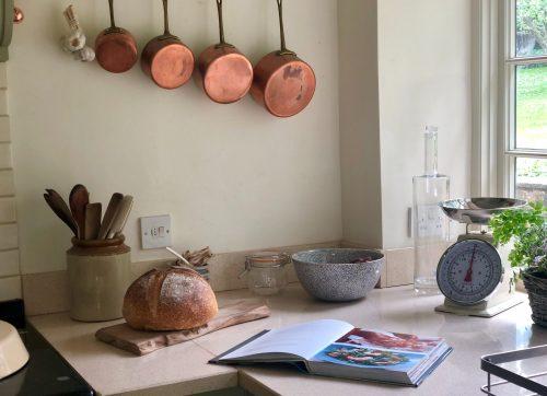hanging kitchenware