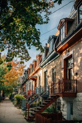 homes in Montreal, Canada